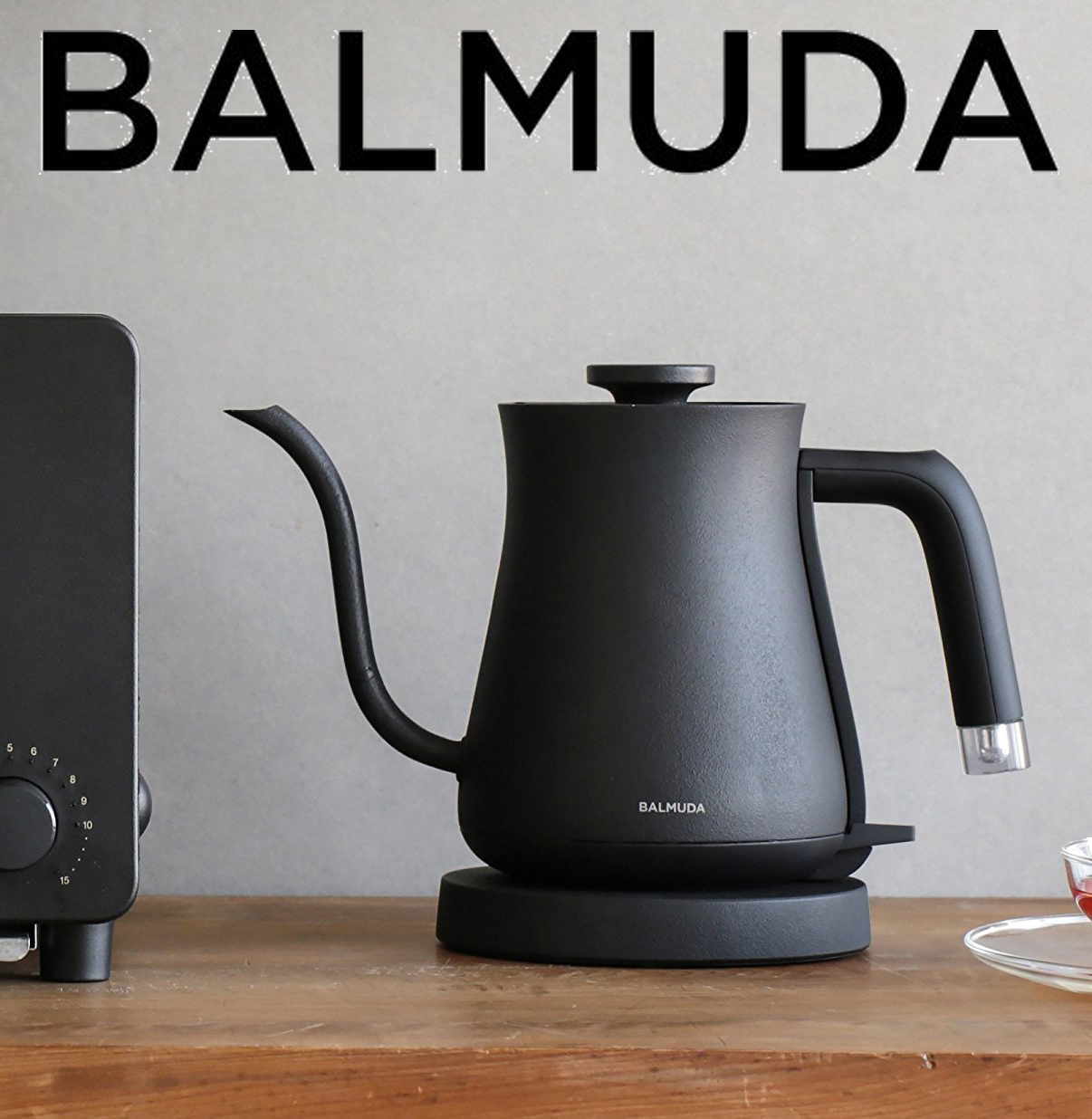 BALMUDA The Pot 電気ケトル (BK)